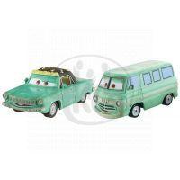 Mattel Cars 2 Autíčka 2ks - Rusty Klink a Dusty Klenk