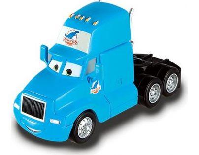 Mattel Cars Velká auta - Gray Semi