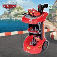 Smoby 500089 - Dílenský vozík Cars 2