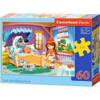Castorland Puzzle Červená karkulka 60 dílků