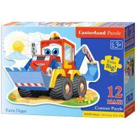 Castorland Puzzle 12 Maxi Bagr