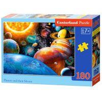 Castorland Puzzle 180 dílků Planetky
