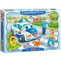 Castorland Puzzle 30 dílků Bezpečnost především