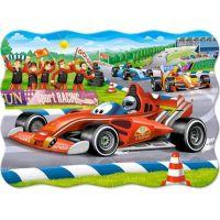 Castorland Puzzle 30 dílků Závodní formule