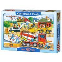 Castorland Puzzle 40 Maxi stavba