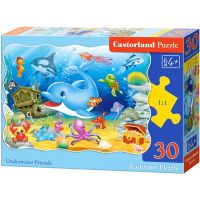 Castorland Puzzle Delfín a jeho kamarádi 30 dílků