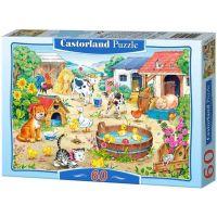 Castorland Puzzle Farma 60 dílků