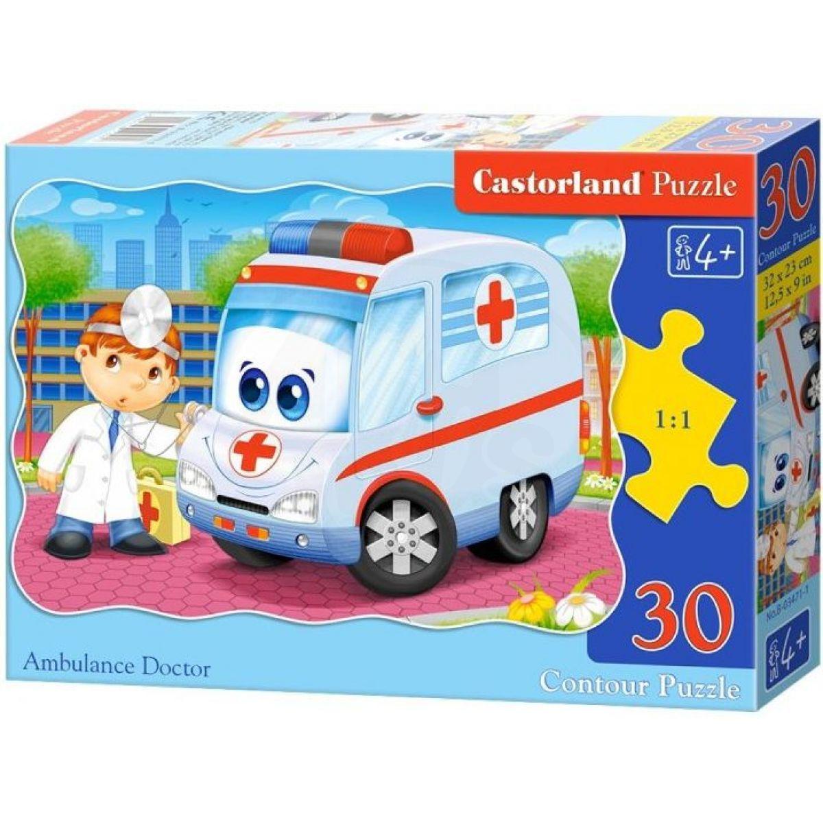 Castorland Puzzle Sanitka 30 dílků