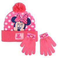 Cerdá Zimní set čepice a rukavice Minnie