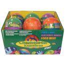 EPline EP01448 - Chameleon fotbalový míč 10 cm - modro oranžový 3