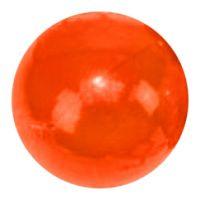 Chameleon fotbalový míč 10 cm oranžový