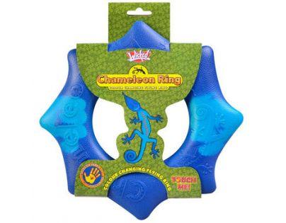 EP Line Chameleon létající kruh 24 cm - Modrá