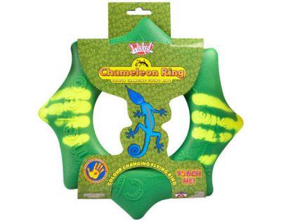 EP Line Chameleon létající kruh 24 cm - Zelená