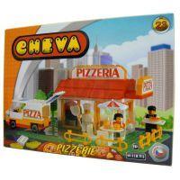CHEVA 11023 - Stavebnice CHEVA 23 Pizzeria