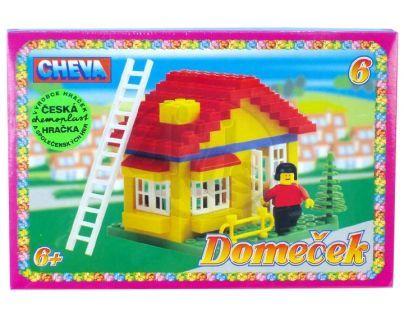 CHEVA 11006 - Stavebnice CHEVA 6 Domeček