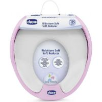 Chicco Adaptér na WC Soft s úchyty růžové