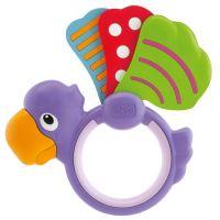 Chicco Chrastítko papoušek křídlo