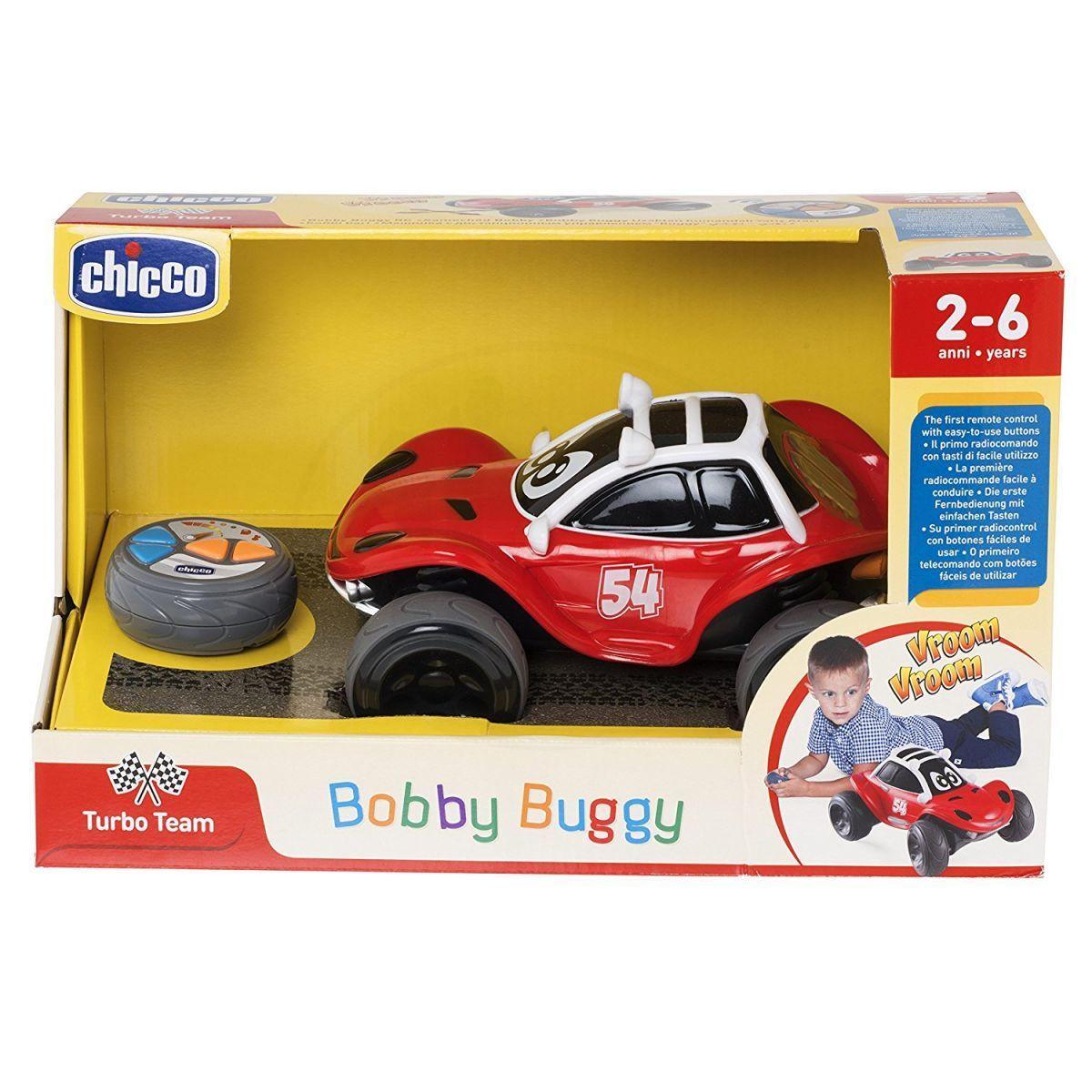 Chicco Hračka autíčko Bugatka Bobby na dálkové ovládání