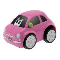 Chicco Hračka autíčko Turbo Touch Fiat 500 Růžová