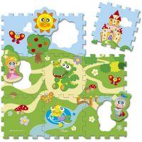 Chicco Hračka puzzle pěnové Hrad 9 ks