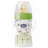 Chicco láhev polypropylen 150 ml dudlík kaučuk 0m Včelky