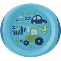 Chicco Modrá jídelní sada s talířem a miskou 3
