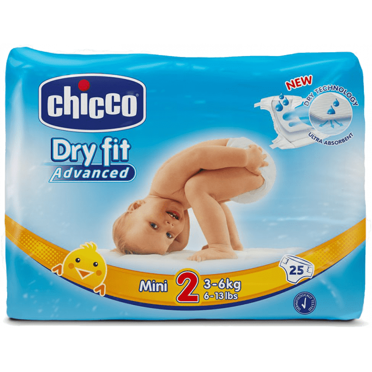 Chicco Plenky Chicco Mini 25 ks