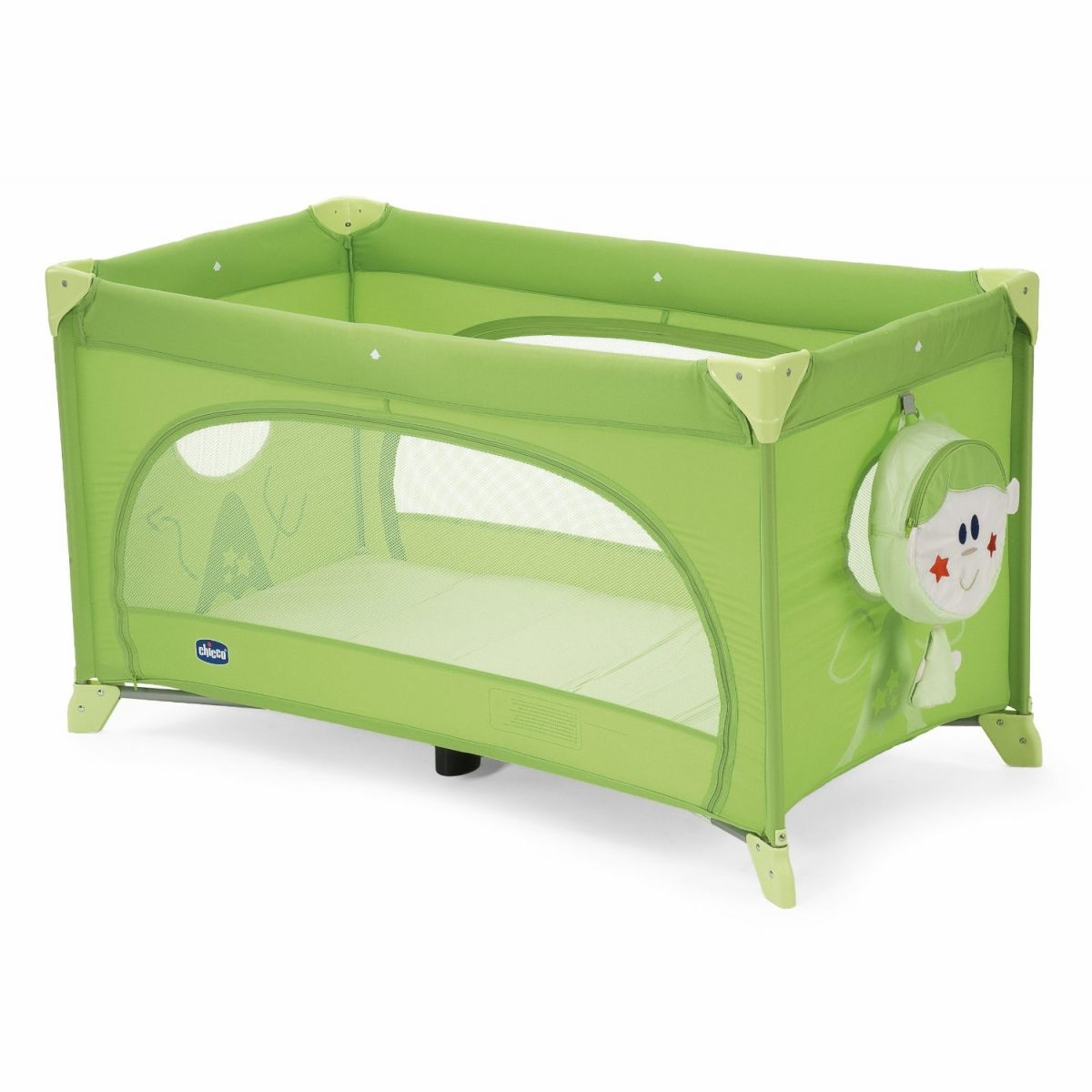 CHICCO Postýlka EASY SLEEP green