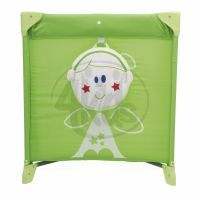 CHICCO Postýlka EASY SLEEP green 2