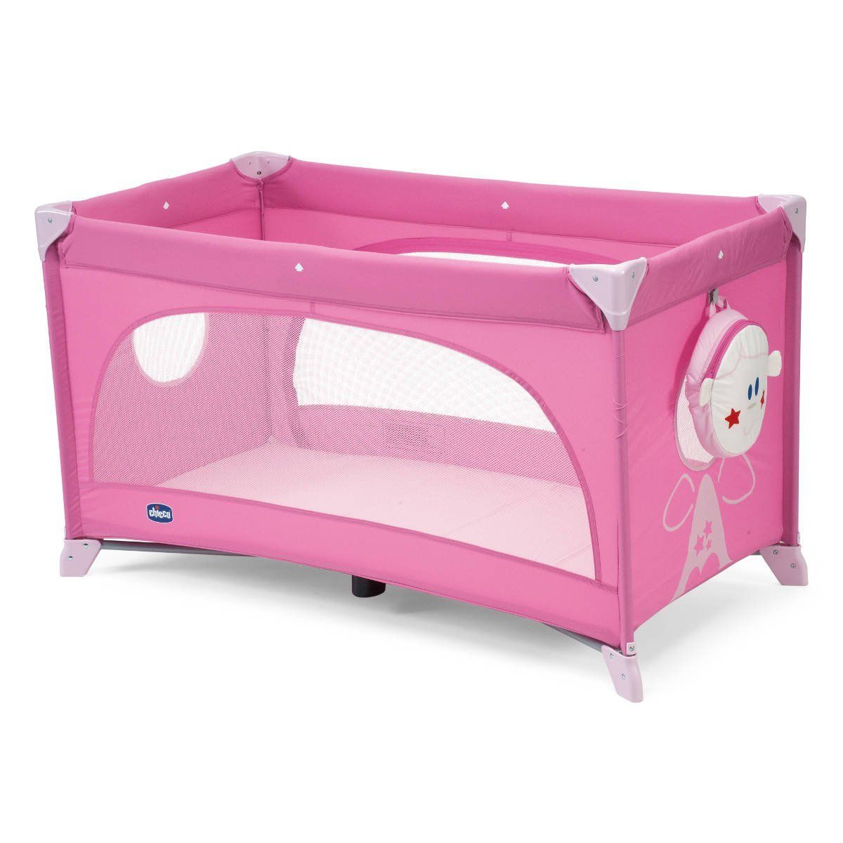 CHICCO Postýlka EASY SLEEP pink
