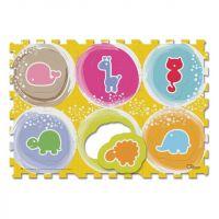 Chicco Puzzle pěnové Zvířátka 6ks