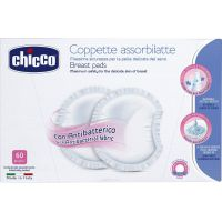 Chicco Tampóny do podprsenky antibakteriální 60ks