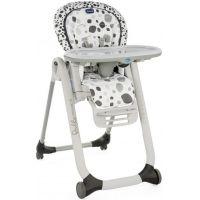 Chicco Židlička jídelní Polly Progres 5 Anthracite - Poškozený obal