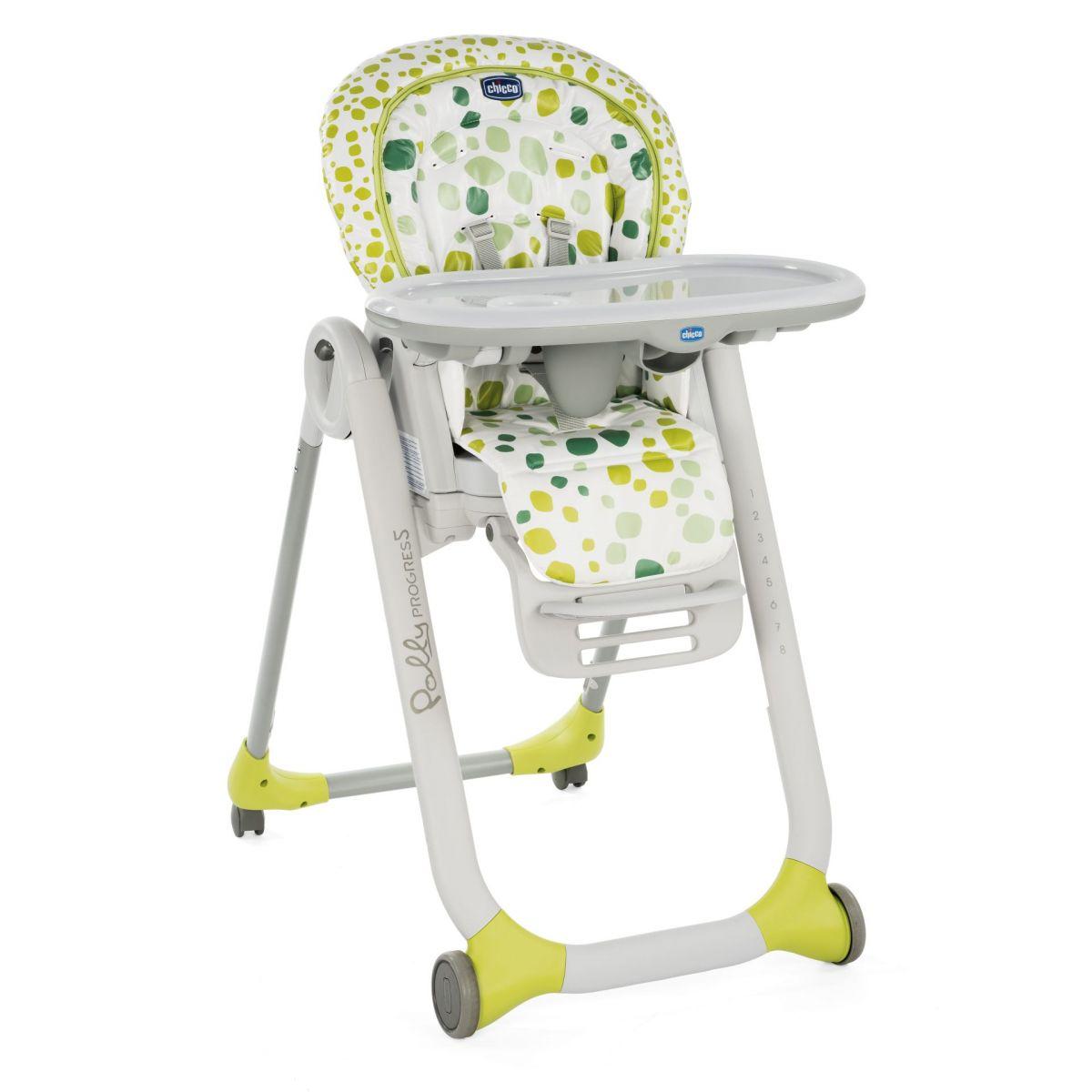 Chicco Židlička jídelní Polly Progres5 Kiwi