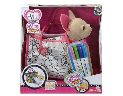 ChiChi Love S 5895299 - Color Me Mine 20 cm s taškou k vybarvení