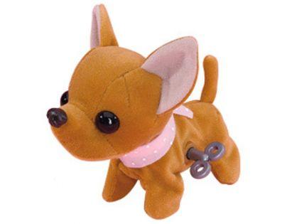 Chi Chi Love Sweet Snappy pes 13 cm - Hnědá