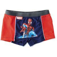 Chlapecké plavky boxerky Spiderman červeno-modré vel. 10