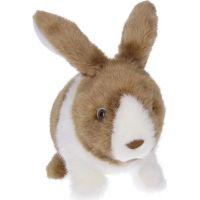 Wiky Chodící plyšový králíček 22 cm 2
