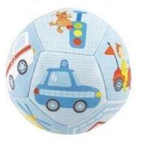 Chrastítko míček 12 cm modrý