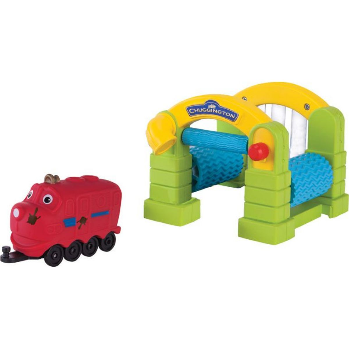 Chuggington Mycí linka s mašinkou