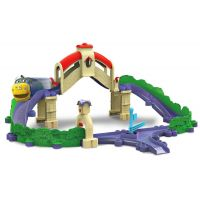 Chuggington Set s mostem a tunelem