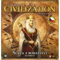 Fantasy Flight Games FCI02CZ - Civilization - Rozšíření Sláva a bohatství
