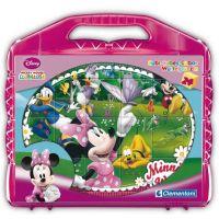 Clementoni 42416 - Kostky Kufřík (24 kostek) - Mickey Mouse