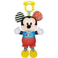 Clementoni Baby Mickey plyšový se zvuky a úchytem