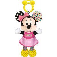 Clementoni Baby Minnie plyšová se zvuky a úchytem 25cm