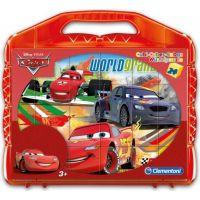 Clementoni Cars Kostky v kufříku 24ks