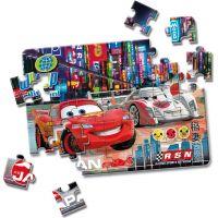 Clementoni Cars Puzzle Supercolor Auta 2 x 20 dílků 3