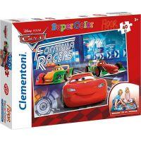 Clementoni Cars Puzzle Supercolor Auta 40 dílků