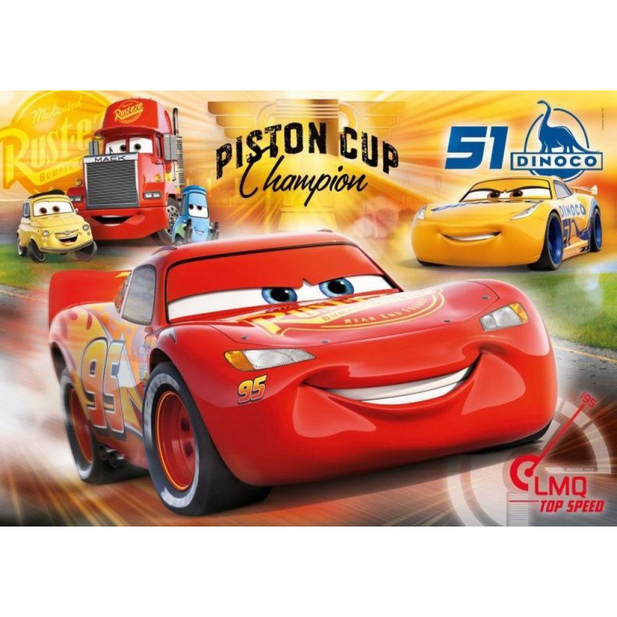 Clementoni Cars Puzzle Supercolor Maxi 60 dielikov