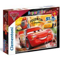 Clementoni Cars Puzzle Supercolor Maxi 60 dielikov 2